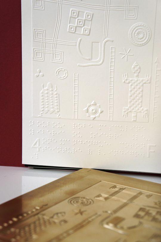 Imagier sensoriel du musée du quai Branly
