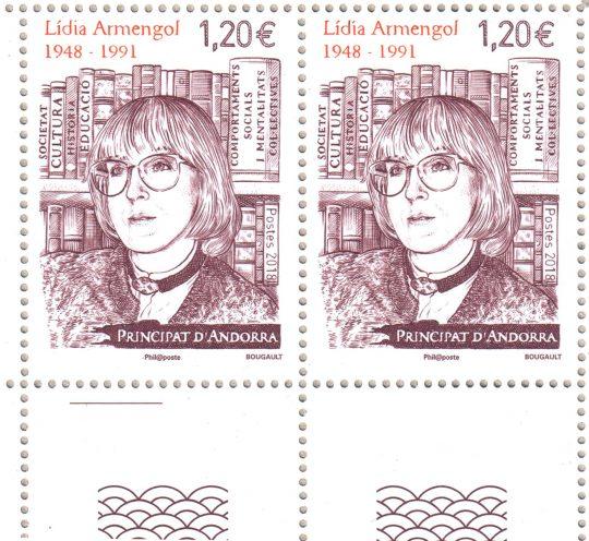 Timbres-poste Lídia Armengol 1948-1991