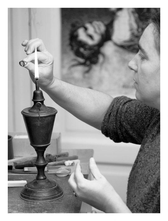 Portrait, Murielle Pudal © Atelier Bougault-Desquand