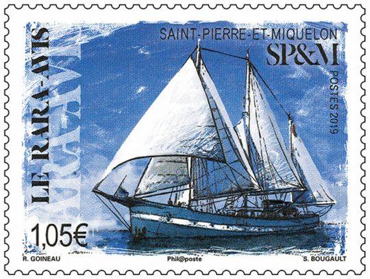 Timbre le Rara-Avis, St-Pierre-et-Miquelon